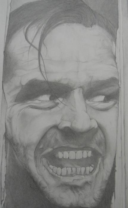 Jack Nicholson by pencilartandy